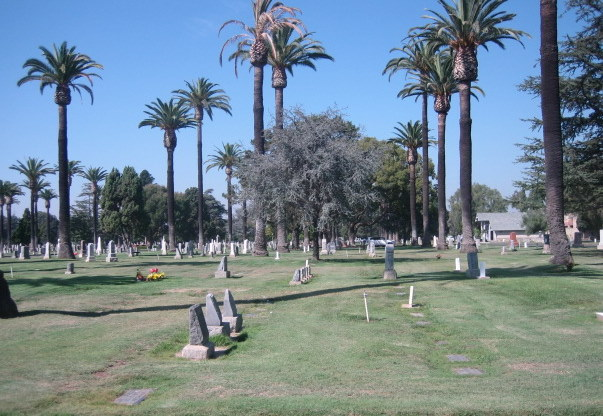 Photo of Santa Ana Cemetery lawns