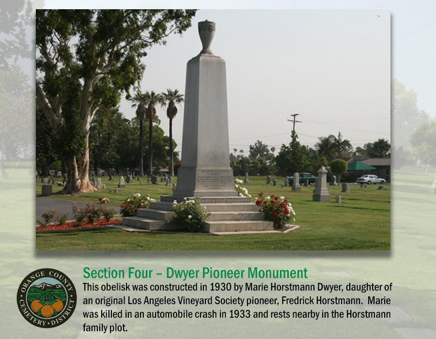 Section 4: Dwyer Pioneer Monument